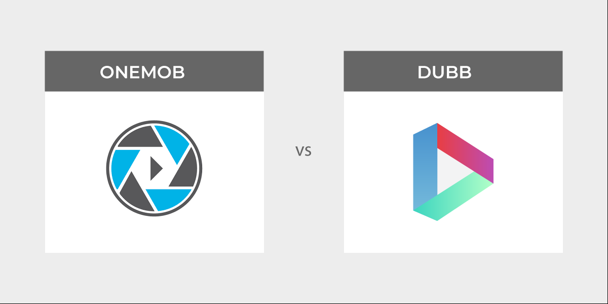OneMob pricing vs. Dubb pricing