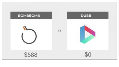 free alternative to bombbomb - Dubb