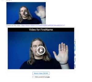 Email Preview Vidyard Videos vs Dubb Videos