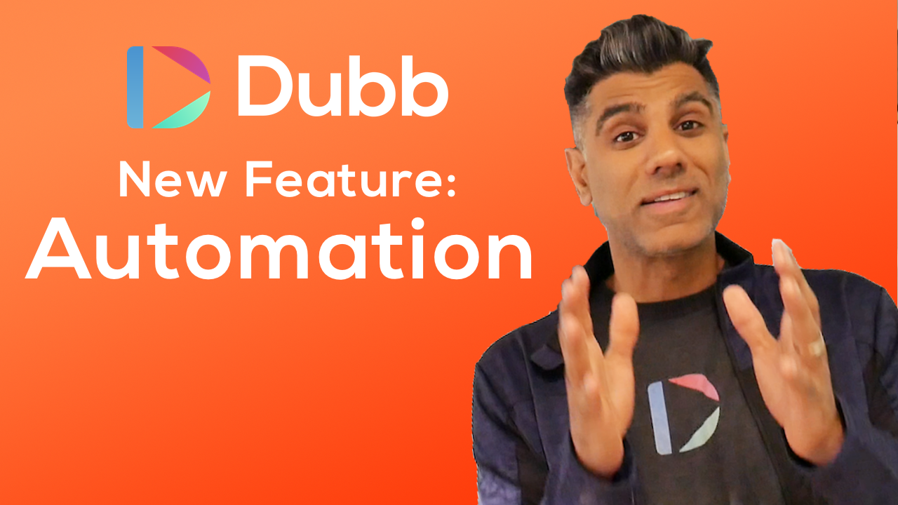 Dubb automation announcement