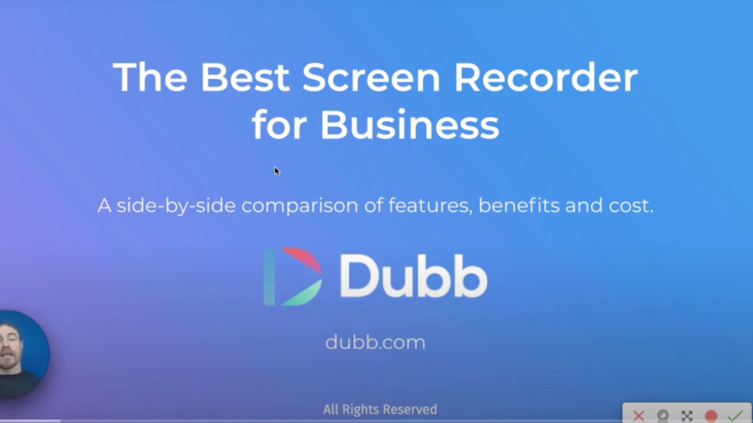 Screen Recorder for Business