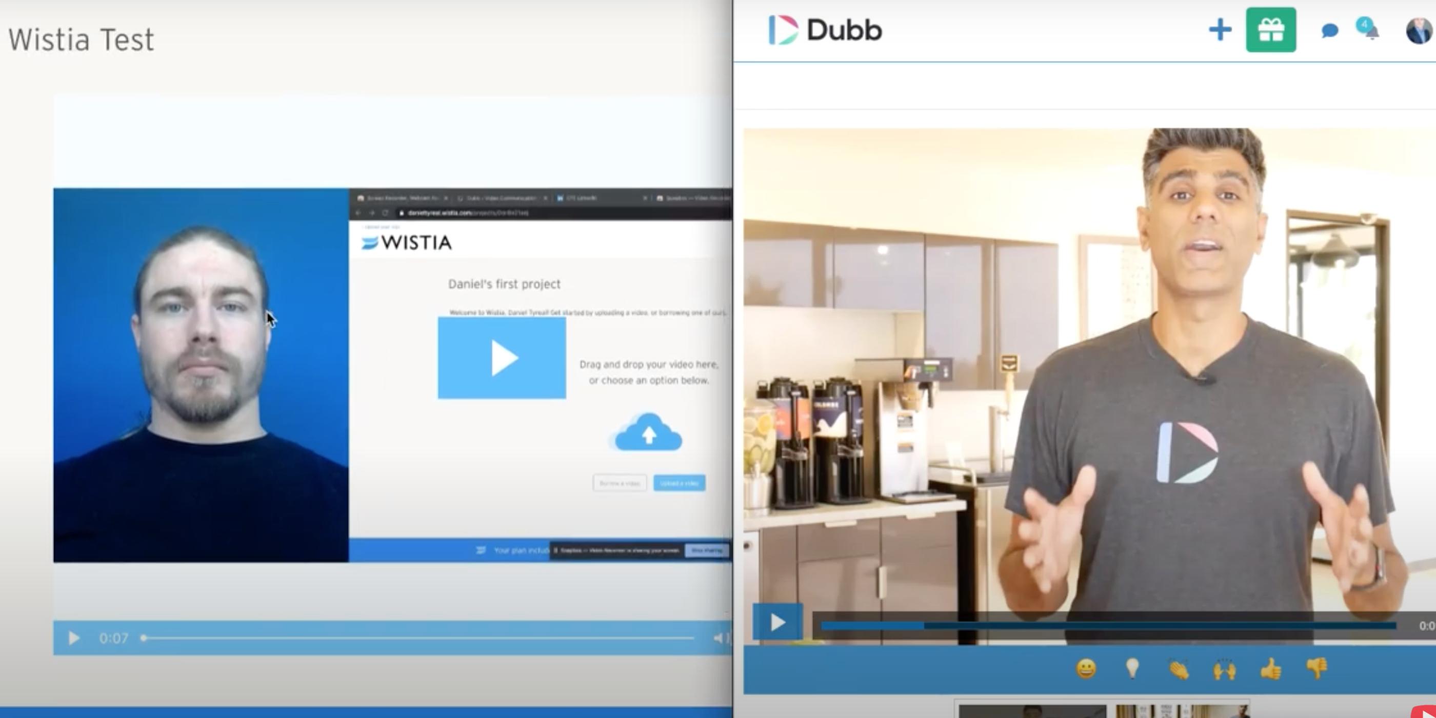 Wistia compared to Dubb