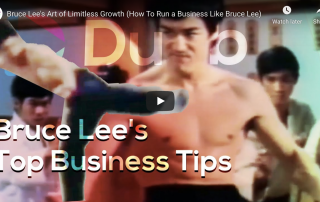 Bruce Lee and Limitless Growth