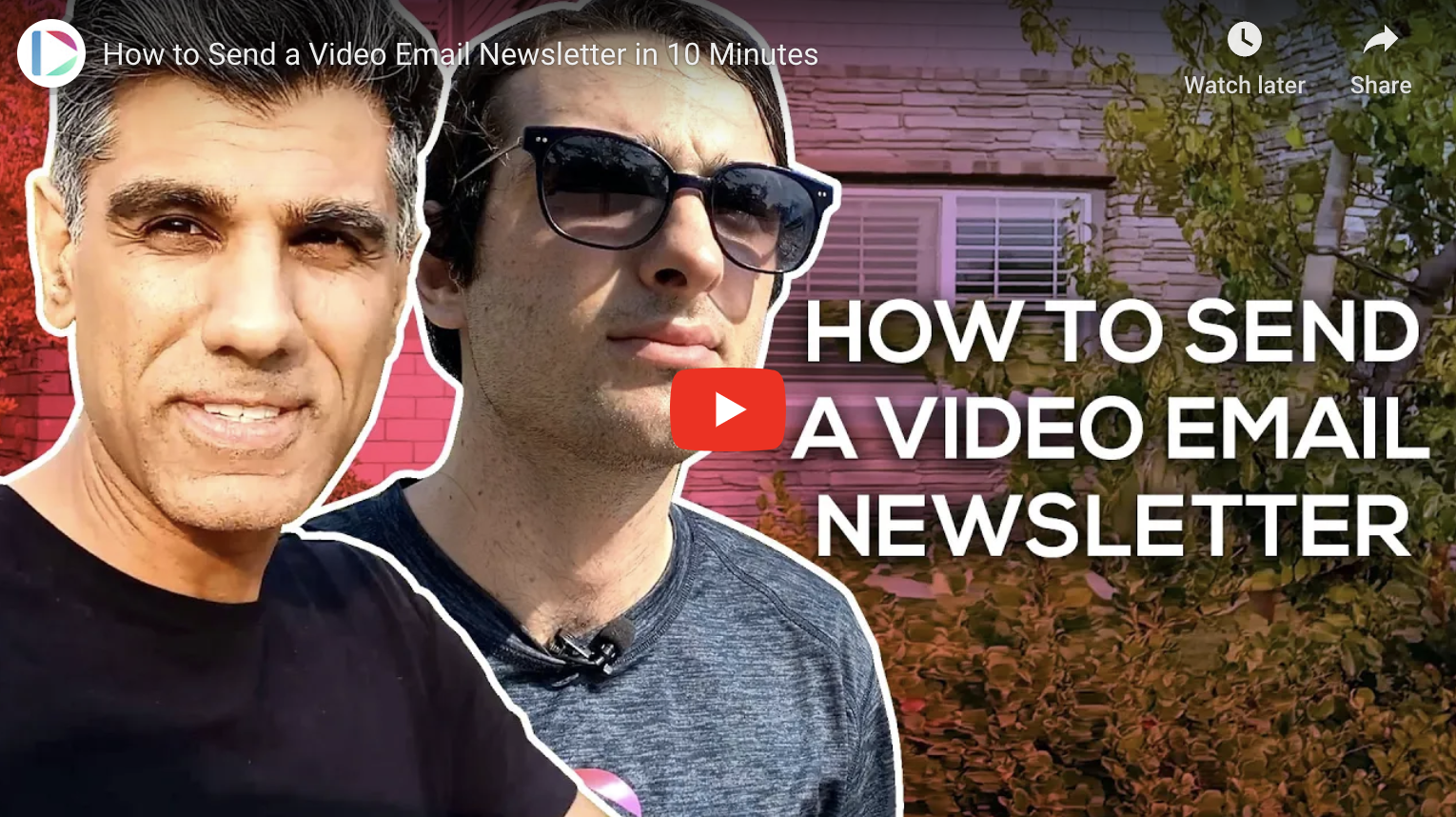 Video Email Newsletter