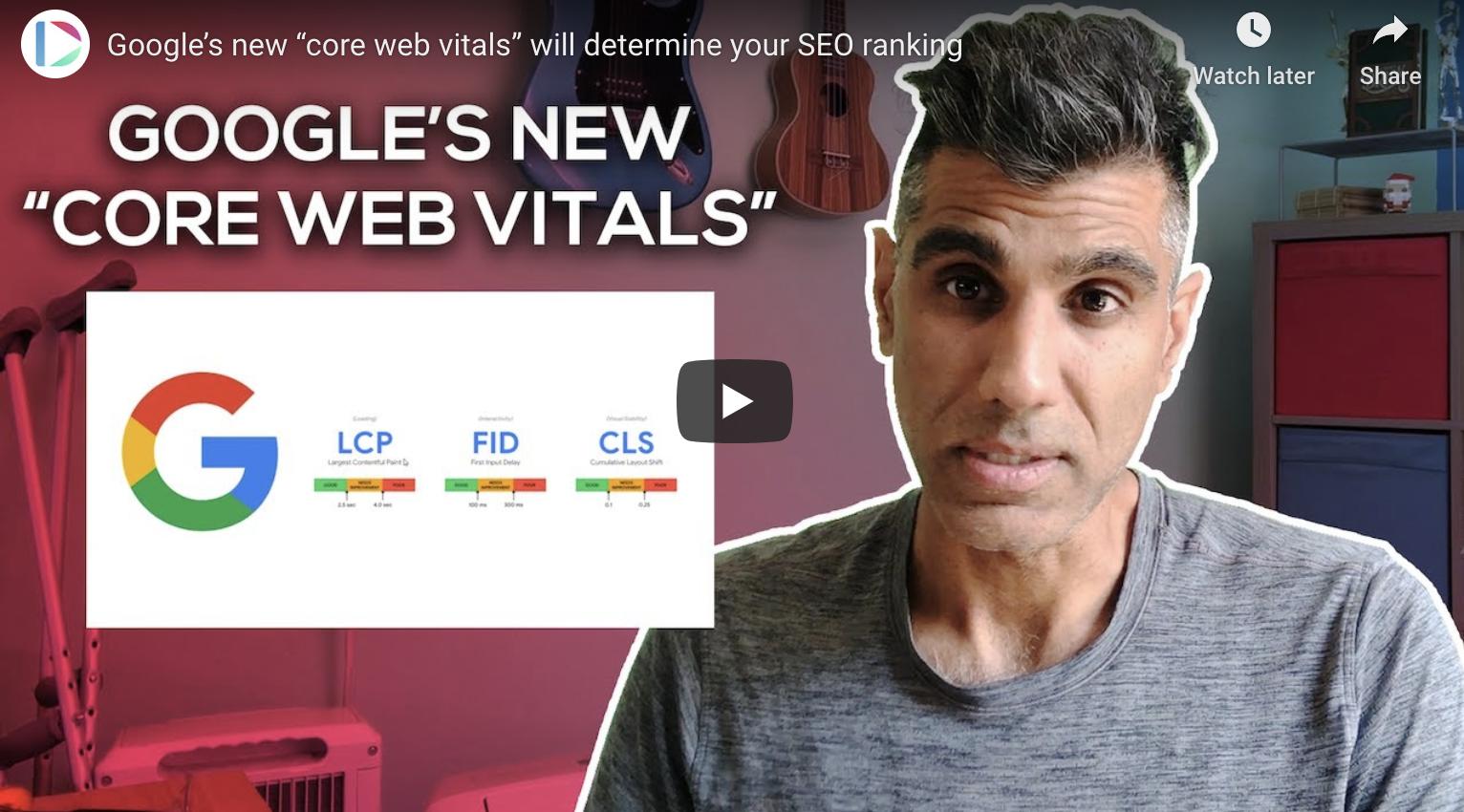 Google's New Core Web Vitals