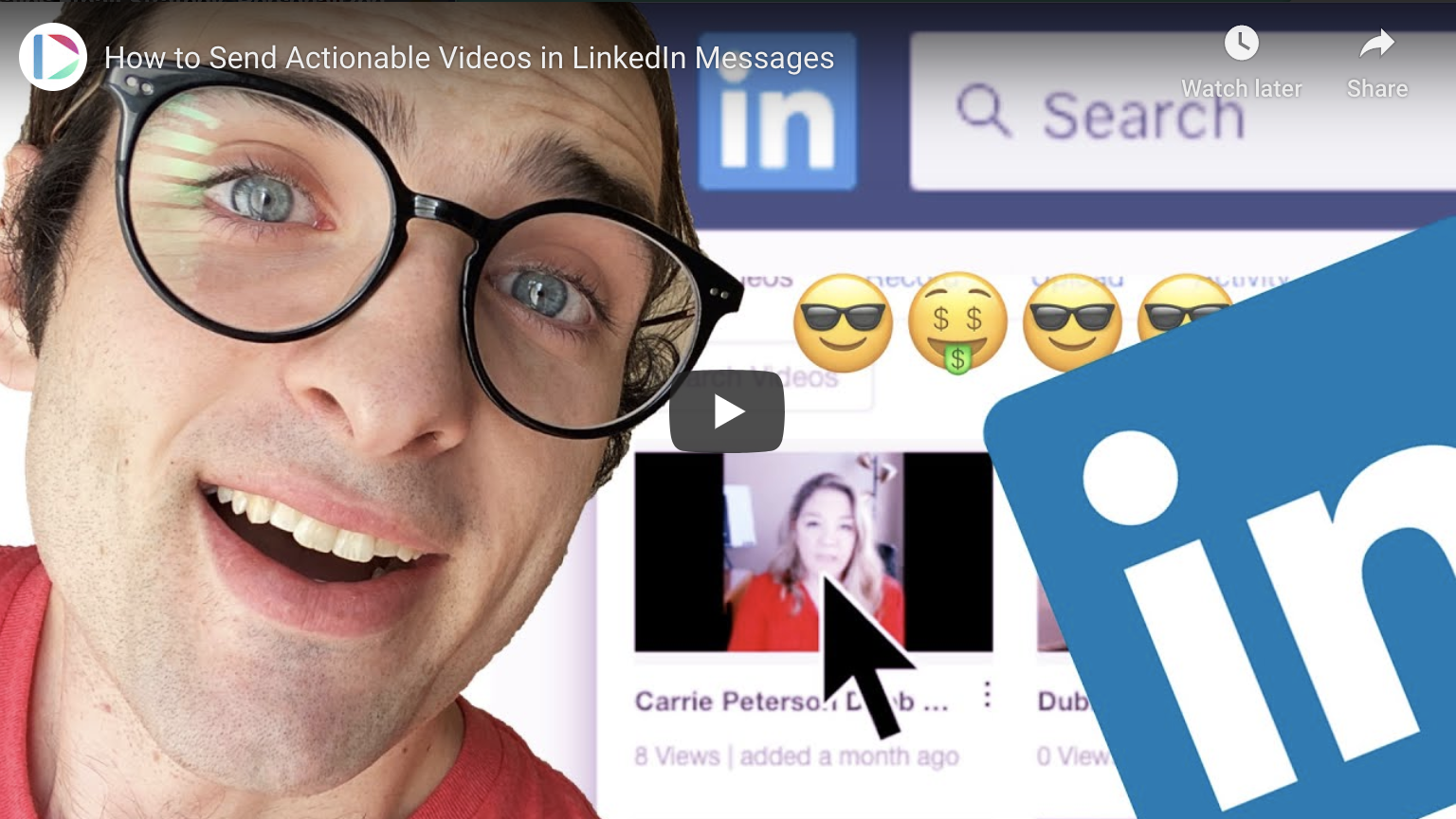 Actionable Videos on LinkedIn