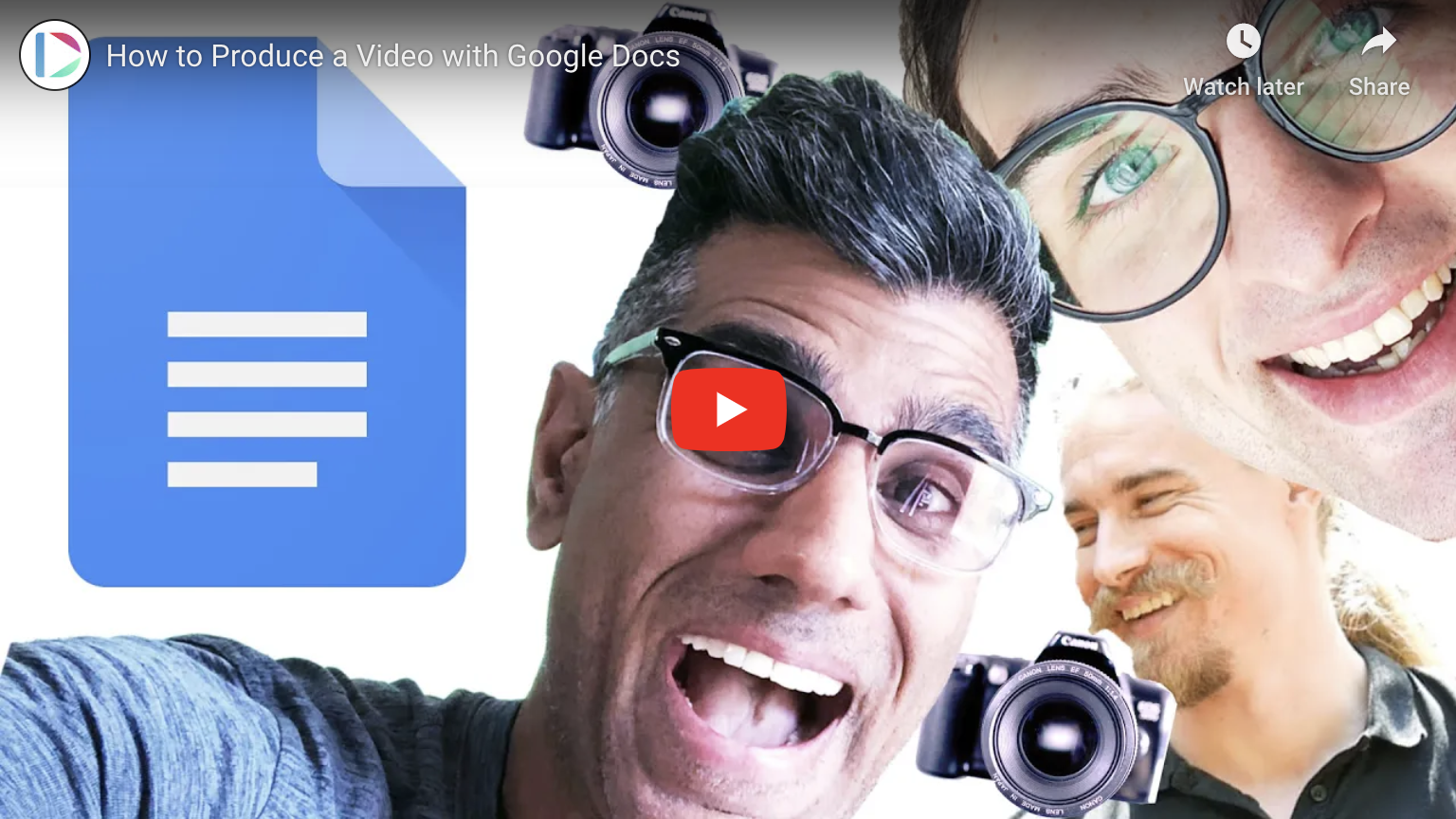 How to Produce a Video with Google Docs