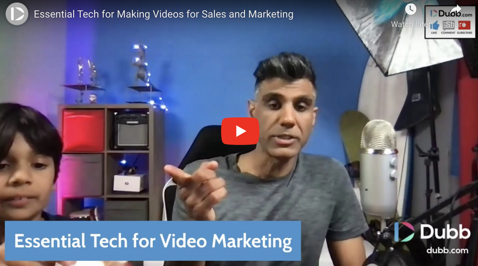 Essential Technology for Making Videos for Sales and Marketing