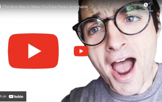 The Best Way to Make YouTube Pages Actionable
