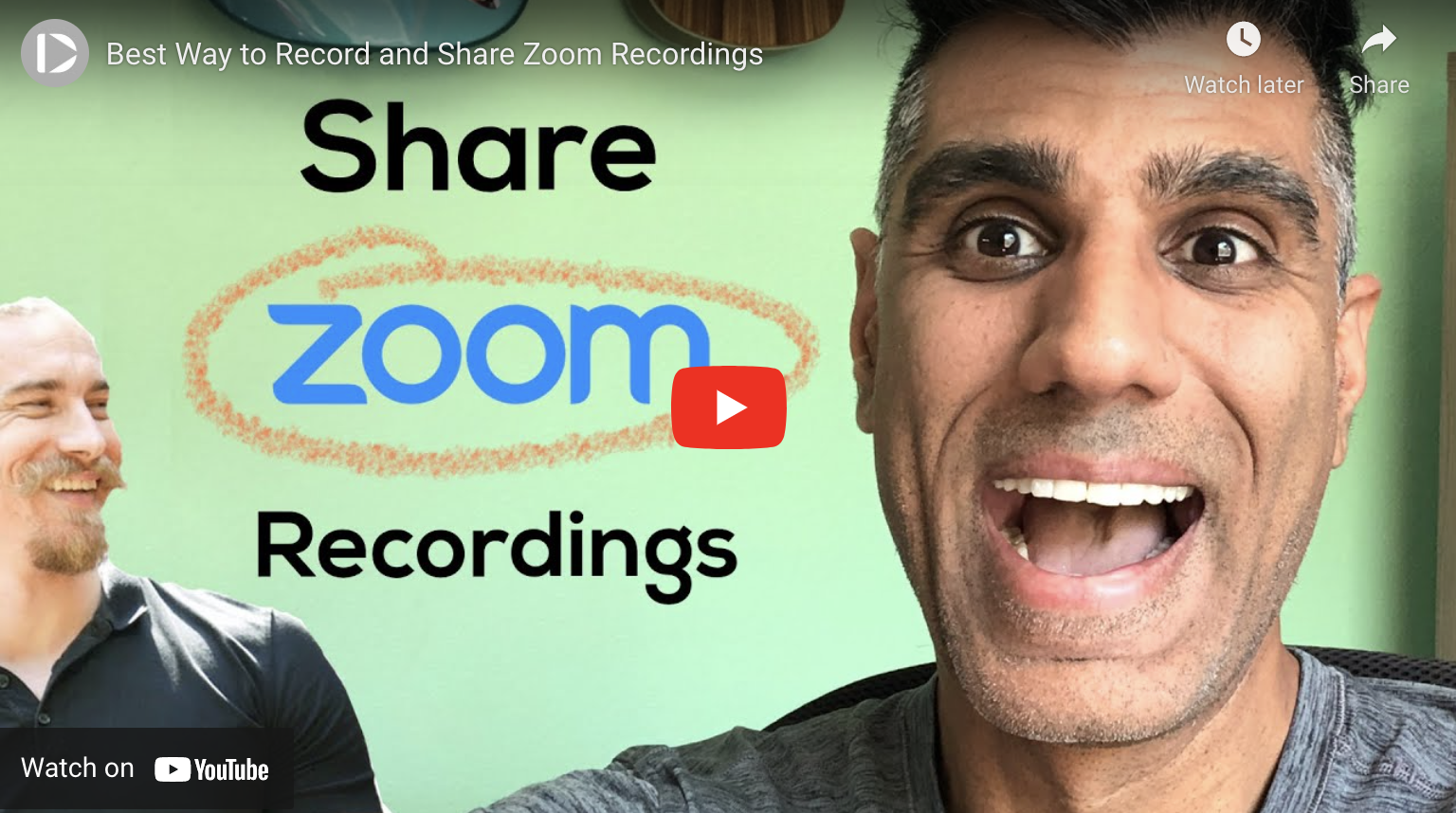 The Best Way to Record and Share Zoom Recordings