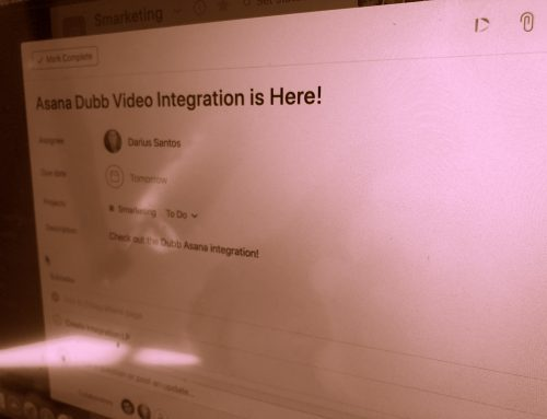 How to Share a Video in Asana with Dubb