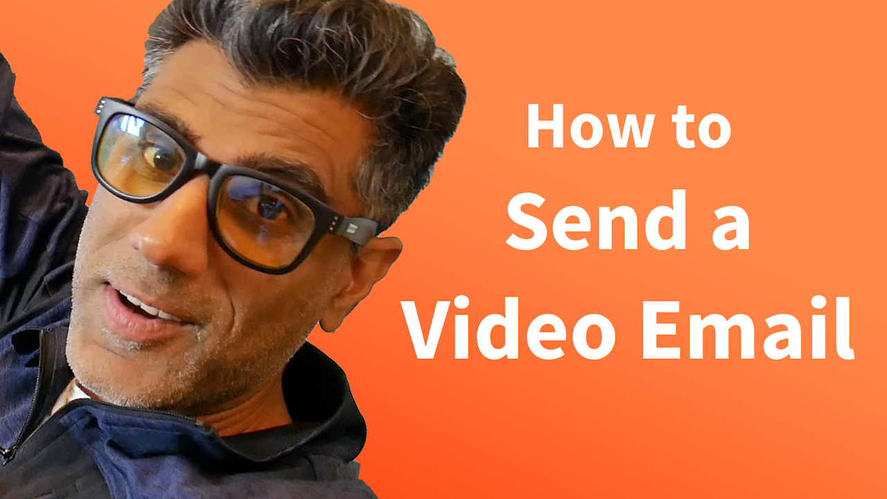 send a video email