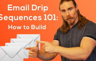 how to build email drip sequences