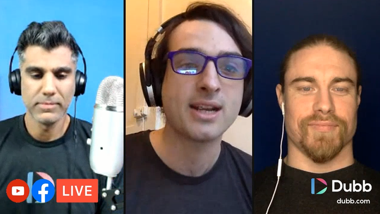 Dubb Feature Announcement Monday Live Stream