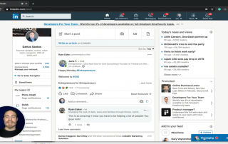 How to Send Videos to Contacts in Linkedin with Dubb