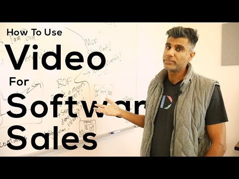 How to Use Video for Software Sales
