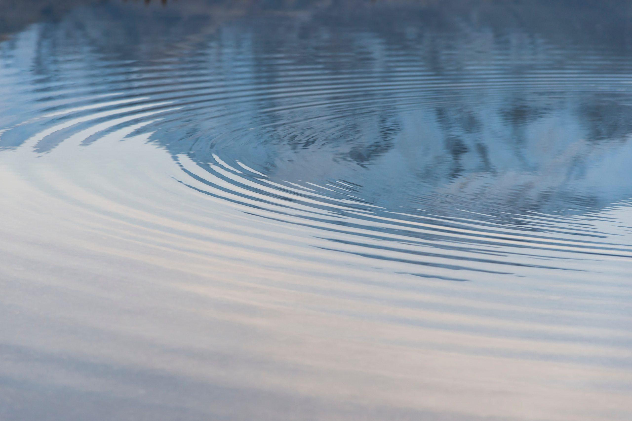 leadership water ripples